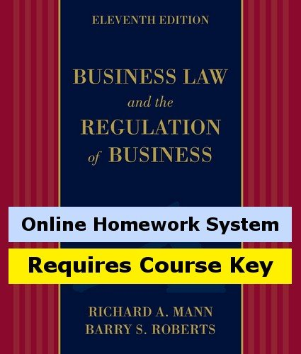 CengageNOW (with eBook and Business Law Digital Video Library) for Anderson's Business Law and the Legal Environment, Comprehensive VolumeMann/Roberts' Business Law and the Regulation of Business, 11th Edition