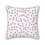 NICEPLW pillowcover of love,for couples,her,boy friend,couples,car,deck chair 16 x 16 inches / 40 by 40 cm(both sides)