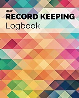 Sheep Record Keeping Logbook Abstract Journal Handbook Planning Spreadsheet