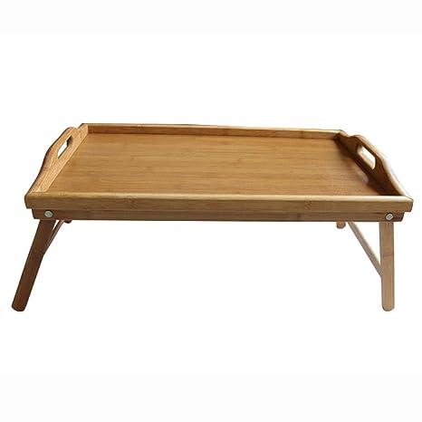 Amazon Com Heaven Tvcz Table Tray Breakfast Bamboo Desk Bed
