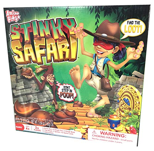 Stinky Safari Find The Loot Don't Step in The Poop Game