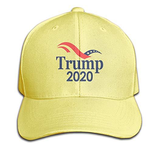 917f4149d LJQ-shop Donald Trump 2020 Men's and Women's Baseball Caps Yellow