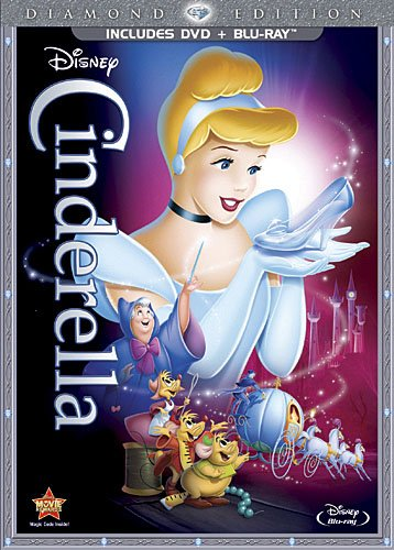 Cinderella (Two-Disc Diamond Edition Blu-ray DVD Combo in DVD Packaging)