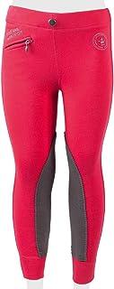 PFIFF 102603 Ella Legging d'équitation en Tissu pour Enfant Rose/Gris 158
