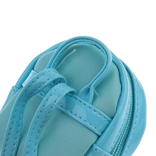 Baoblaze Niedlichen Puppe Reißverschluss Schultasche Rucksack für 1/3 Bjd Sd Puppen Zubehör - # 4 # 3