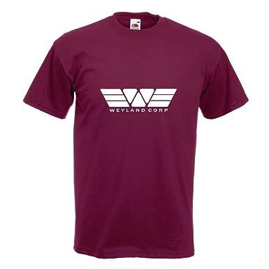 KIWISTAR - Weyland Corporation Alien vs. Predator T-Shirt in 15  verschiedenen Farben -