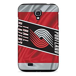 Hot JEd11467kXlM Cases Covers Protector For Galaxy S4- Portland Trail Blazers