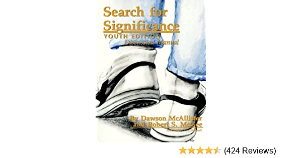 Amazon Search For Significance Discussion Manual Youth