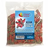 Gummy Cola Bottles - Efrutti Sour Cherry Gummi Cola Bottles 2.2 LB Bulk Candy
