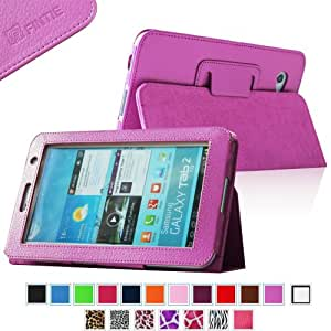 Fintie Slim Fit Folio Case Cover for Samsung Galaxy Tab 7.0 Plus / Samsung Galaxy Tab 2 7.0 Tablet - Violet