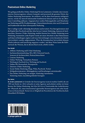 Praxiswissen-Online-Marketing-Affiliate-und-E-Mail-Marketing-Suchmaschinenmarketing-Online-Werbung-Social-Media-Facebook-Werbung-German-Edition