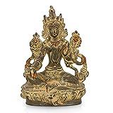 AapnoCraft Unique Tara Buddha Statue Thai Blessing Buddha Sculpture Buddhism Sculpture-Vintage Showpiece For Home & Office