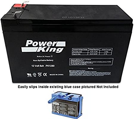 Power-Sonic,compatible with New PEG PEREGO 12 VOLT 7 AH SLIM BATTERY REPLACEMENT IAKB0014 Free S