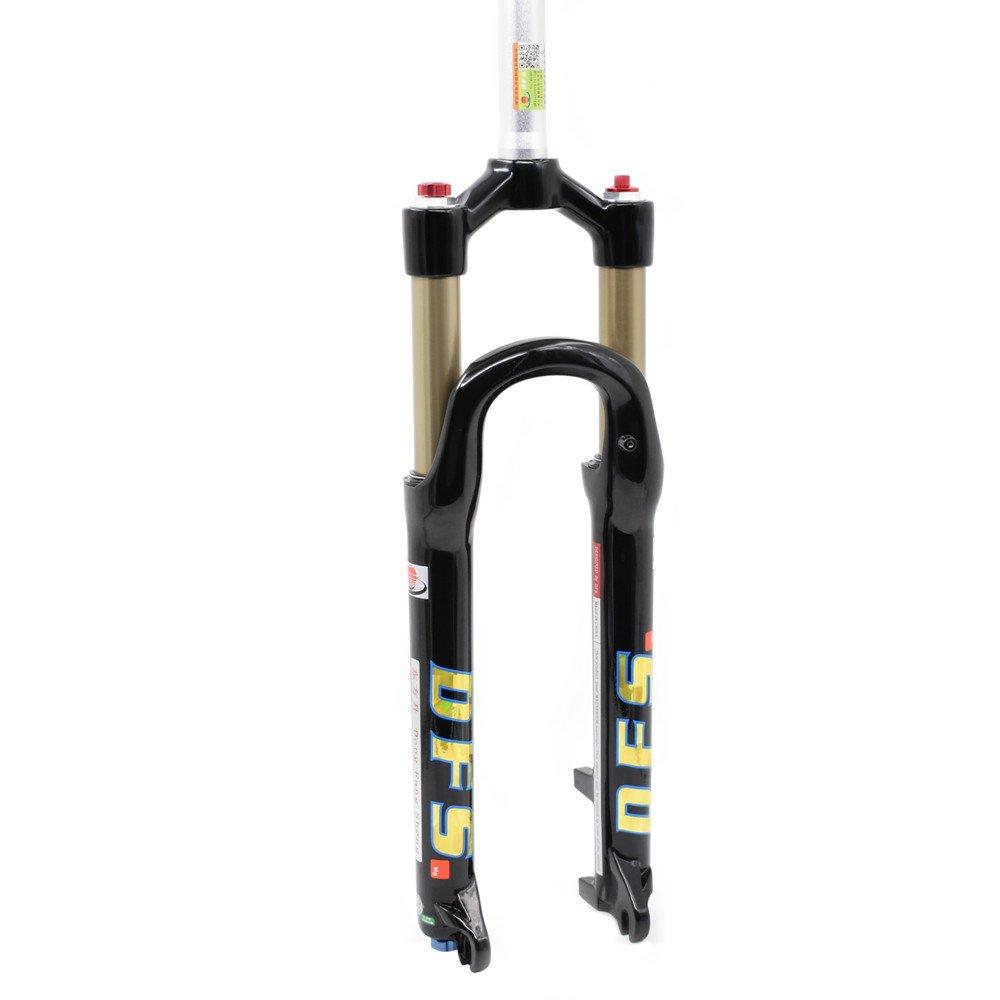 DFS Air Fork RLC Suspension Fork for Mountain Bike Touring Bikes Black 26 inch 27.5 inch