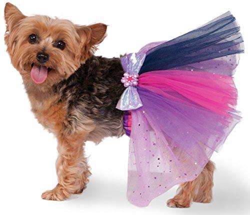Rubies Costume 580497_S-M My Little Pony Twilight Sparkle Pet Tutu, Small/Medium