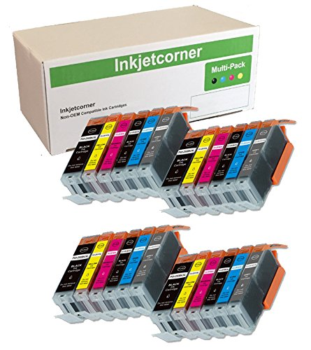 Inkjetcorner Compatible Cartridges Replacement PGI 250XL product image