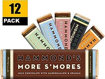 Barras de chocolate de leche para caramelos, más humos (12 ...
