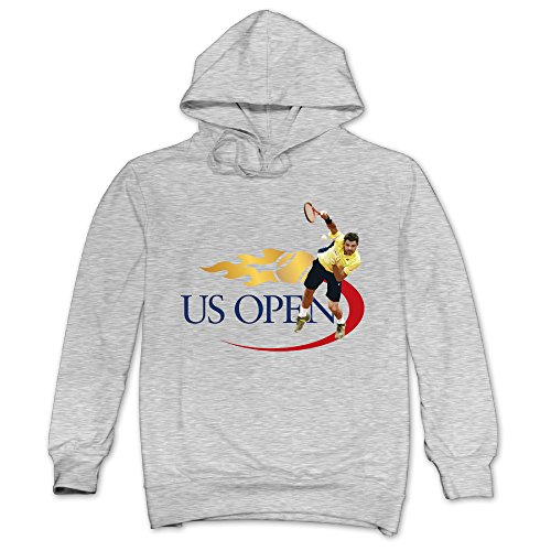 XJBD Men's Stan Wawrinka Unique Hoodies Ash Size XXL