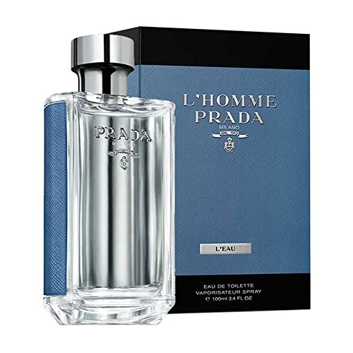Prada Prada L'homme L'eau By Prada for Men 3.4 Oz Eau De Toilette Spray, 1 Oz