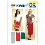 Kwik Sew K3765 Skirts Sewing Pattern, Size XS-S-M-L-XL