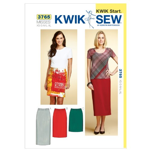 Kwik Sew K3765 Skirts Sewing Pattern, Size XS-S-M-L-XL by KWIK-SEW PATTERNS