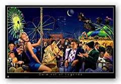 Carnival of Legends Poster Monroe Dean Marx George