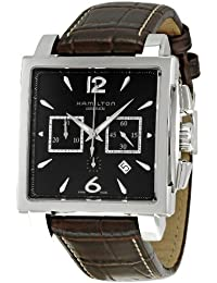 Men's H32666535 Jazzmaster Black Dial Watch