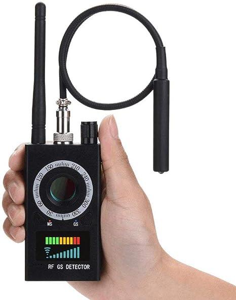 Opinión sobre Detector ElectromagnéTico K18,Detector De SeñAl De Rf,SeñAl De Detector De Errores InaláMbrico Para CáMara Oculta,Detector De EspíAs CáMara Detector De Errores De Audio Escaneo GPS,Negro