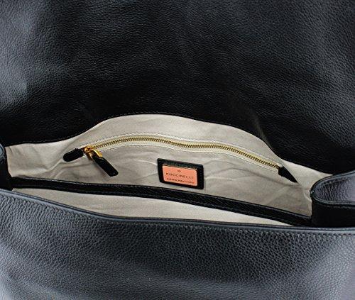 vachette Liya main sac en Noir à Noir TzaTZ