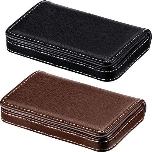 Pieces Business Holder Leather Magnetic product image