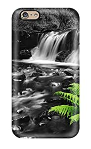 [pqGHsLG17585BWOQl]premium Phone Case For Iphone 6/ Black And White Stream Tpu Case Cover
