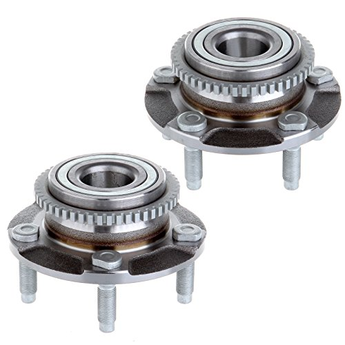 Scitoo A Set Of 2 New Wheel Bearing and Hub Assembly Front 513115 fits 94-04 Ford Mustang 5 Lug Mustang 4 Lug 5 Lug