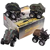 Best Toy For 4 Year Old Boys - Pull Back Cars Dinosaur Toys, Satkago 4 Pieces Review