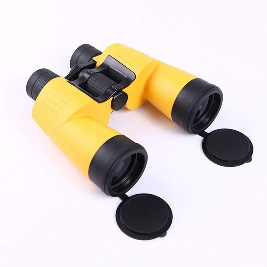経典ブランド KRPENRIO 双眼鏡 10倍 安定した画像 FMC フルコーティング 防水デザイン Bak4 プリズム  イエロー B07L5CZLCL, 業務用卸問屋 カズサヤ 11d4bb9c