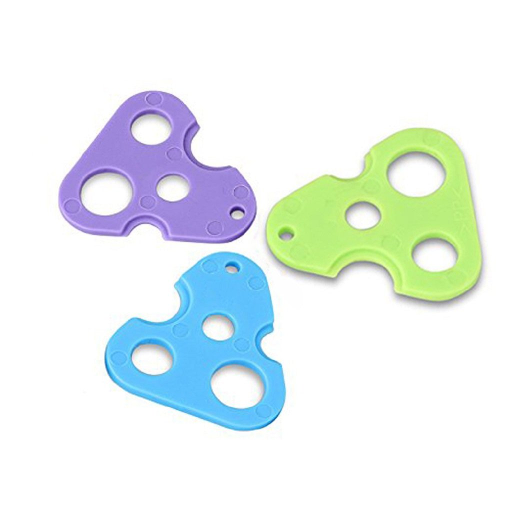 Essential Oils Opener,3 Packs Essential Oil Key Tool For Easily Remove Roller Balls Caps and Orifice Reducer Inserts On Most Bottles,Save Your Fingers and Finger Nails