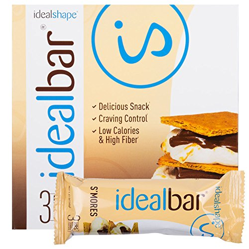 UPC 850864006386, IdealBar, Meal Replacement Bars, Smores, w/ Hunger Blocker - 140 Calories, 8g Sugar, 11g Protein - 7 Bars