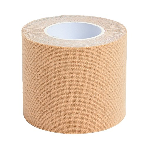 1 Roll Kinesiology Tape 3 m x 5 cm in 8 Colours (Skin)