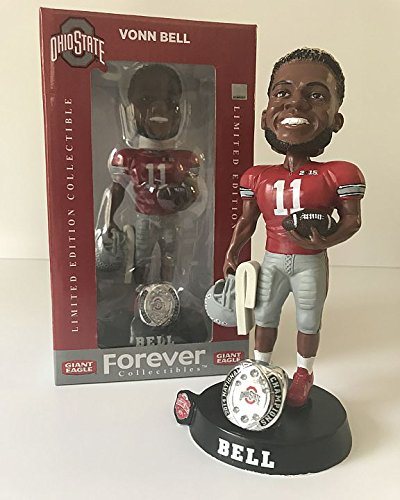 Vonn Bell Ohio State Buckeyes Limited Edition Bobblehead - 2014 National Champions - Limited Edition Collectible from Ohio Sports Group