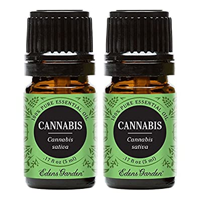 Cannabis 100% Pure Therapeutic Grade Essential Oil by Edens Garden - GC/MS tested