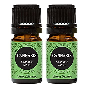 cannabis 5 ml value pack 100 pure therapeutic grade essential oil by edens garden - Edens Garden