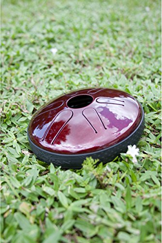 Idiopan-6-Tunable-Steel-Tongue-Drum-Ruby-Red