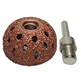 "Harzole WB-3803 Tire Buffing Wheels 1.5"" Dome"