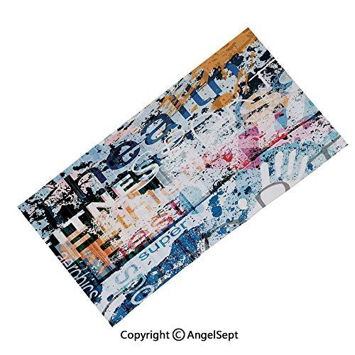 Fashion Headband Magic Scarf Seamless Bandana,Jolly Roger Skull with Two Knifes Bones and Hanging Rope Gothic Halloween Decorative Black White,Runing, Fishing, Hiking,Headwear Sport nd -