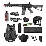 Valken Tactical Valken Battle Machine Trg-L Storm Trooper Airsoft Rifle Package