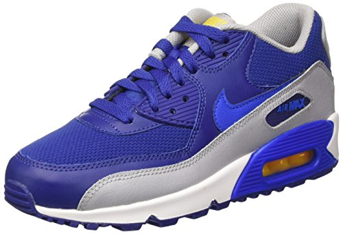 Noir Bleu Deep Nike Mixte varsity 90 Blue Cobalt Air Max Mesh Baskets Maze Royal Basses GS Hyper Enfant vPqvrzx