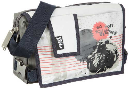 Price comparison product image Sigikid Big Boys' Beasts Cross-Body Bag One Size Grey