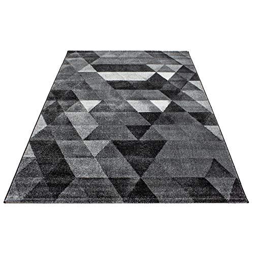 Carpet 1001 1001 1001 Moderner Designer Wohnzimmer Teppich Lima 1920 GRAU - 160x230 cm B07BJDWNBM Teppiche & Lufer 2c2235