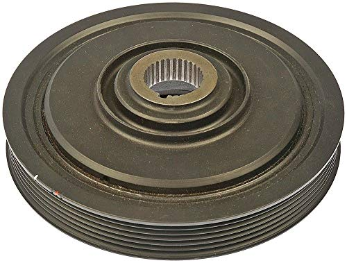 DTA D594-267 Premium Harmonic Balancer Crankshaft Pulley OE Replacement Fits Acura MDX TL RL Honda Pilot Odyssey V6 Accord Saturn VUE. Replaces Dorman 594-267 ()