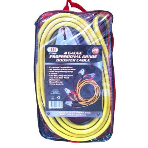 4 Gauge X 20 Feet Heavy Duty Jumpstart Booster Cables by JMK-IIT