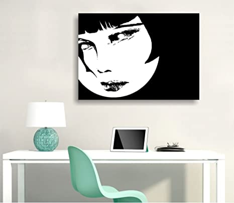 Valentina 2 - cuadro moderno ConKrea 70 x 50 cm Lienzo ...
